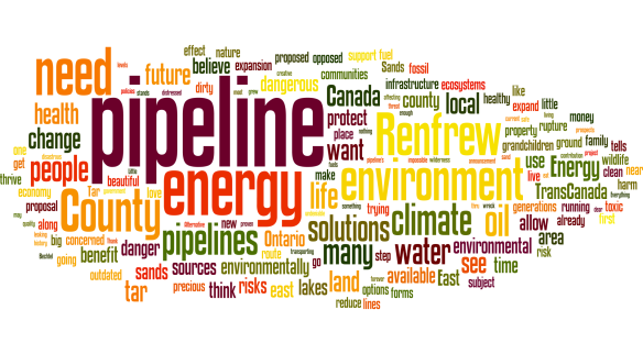 Word Cloud of Petition Responses